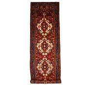 Link to 3' 7 x 11' 8 Hamedan Persian Runner Rug