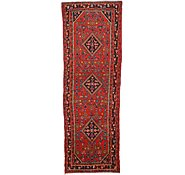 Link to 3' 8 x 10' 3 Hossainabad Persian Runner Rug