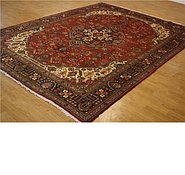 Link to 9' 10 x 13' 1 Tabriz Persian Rug