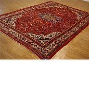 Link to 9' 7 x 12' 5 Farahan Persian Rug