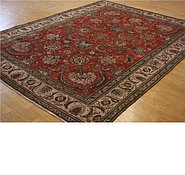 Link to 9' 9 x 13' 2 Tabriz Persian Rug