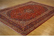 Link to 9' 7 x 13' 1 Kashan Persian Rug