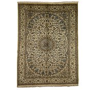 Link to 9' 6 x 12' 10 Nain Persian Rug