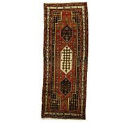 Link to 3' 7 x 9' 6 Hamedan Persian Runner Rug