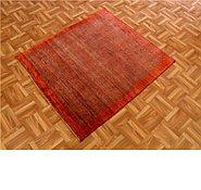 Link to 3' 3 x 3' 8 Kashkuli Gabbeh Persian Square Rug