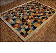 Link to 5' 5 x 7' 6 Kashkuli Gabbeh Persian Rug