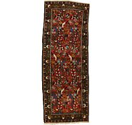 Link to 3' 4 x 9' Hamedan Persian Runner Rug