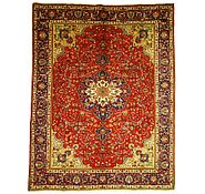 Link to 8' 7 x 11' Tabriz Persian Rug