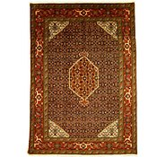 Link to 7' 1 x 10' Tabriz Persian Rug