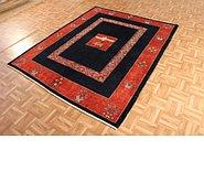 Link to 5' 8 x 7' Kashkuli Gabbeh Persian Rug