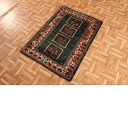 Link to 2' 11 x 3' 8 Kashkuli Gabbeh Persian Rug