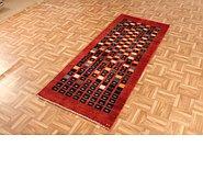 Link to 2' 6 x 6' 3 Kashkuli Gabbeh Persian Runner Rug