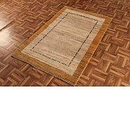 Link to 3' 2 x 4' 10 Kashkuli Gabbeh Persian Rug