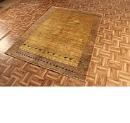 Link to 4' 11 x 6' 5 Kashkuli Gabbeh Persian Rug