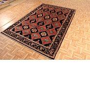 Link to 5' 10 x 8' 7 Kashkuli Gabbeh Persian Rug