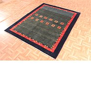 Link to 5' 1 x 6' 6 Kashkuli Gabbeh Persian Rug