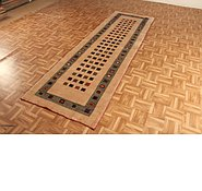 Link to 3' 1 x 9' 9 Kashkuli Gabbeh Persian Runner Rug