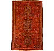 Link to 4' 10 x 8' Kurdish Berber Persian Rug