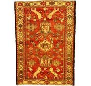 Link to 4' 6 x 6' 3 Hamedan Persian Rug