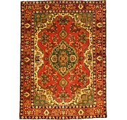Link to 4' 6 x 6' 1 Tabriz Persian Rug