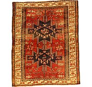 Link to 5' 1 x 6' 4 Shiraz-Lori Persian Square Rug