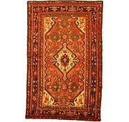Link to 4' 5 x 7' 1 Hossainabad Persian Rug