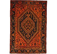 Link to 4' 3 x 6' 3 Hamedan Persian Rug
