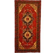Link to 4' 10 x 9' 10 Shiraz Persian Runner Rug