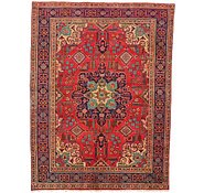 Link to 4' 6 x 6' Tabriz Persian Rug