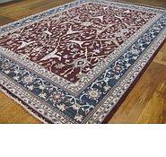 Link to 9' 10 x 13' 3 Peshawar Ziegler Oriental Rug