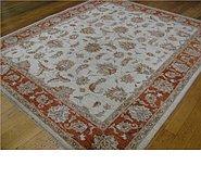 Link to 6' 10 x 7' 10 Peshawar Ziegler Oriental Square Rug