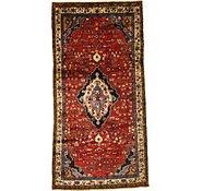 Link to 4' 10 x 9' 9 Hamedan Persian Runner Rug