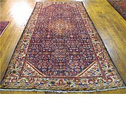 Link to 4' 9 x 10' 1 Hossainabad Persian Runner Rug