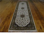 Link to 2' 8 x 9' 11 Kashan Runner Rug