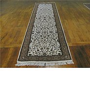 Link to 2' 7 x 9' 8 Kashan Runner Rug