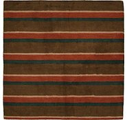 Link to 6' 6 x 6' 8 Reproduction Gabbeh Square Rug