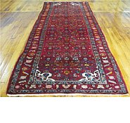 Link to 4' x 9' 8 Hossainabad Persian Runner Rug