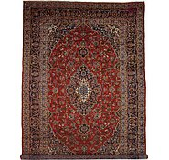 Link to 9' 6 x 13' 10 Kashan Persian Rug