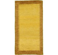 Link to 2' 5 x 4' 7 Indo Gabbeh Rug