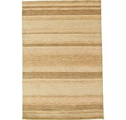 Link to 4' 2 x 6' Indo Gabbeh Rug