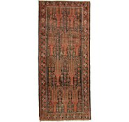 Link to 4' 4 x 9' 8 Shiraz Persian Runner Rug