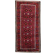 Link to 4' 8 x 9' 6 Shiraz Persian Runner Rug