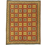 Link to 5' 1 x 6' 4 Sumak Square Rug