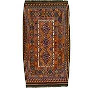 Link to 4' x 7' 3 Kilim Fars Rug