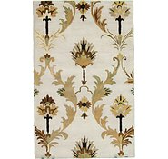Link to 5' x 7' 10 Floral Agra Rug