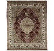 Link to 8' 3 x 10' Tabriz Oriental Rug