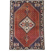 Link to 4' 5 x 6' 5 Hamedan Persian Rug
