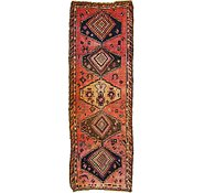 Link to 3' 10 x 11' Shiraz Persian Runner Rug