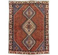 Link to 4' 8 x 6' 4 Shiraz Persian Rug