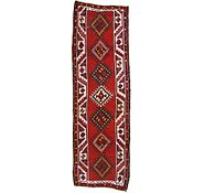 Link to 3' 7 x 11' 2 Shiraz Persian Runner Rug